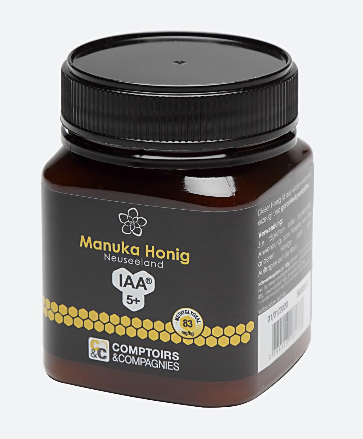 Manuka Honig aus Neuseeland MGO 80+ (250g)