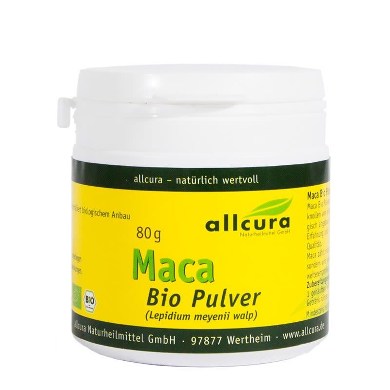 MACA Bio Pulver (80g)