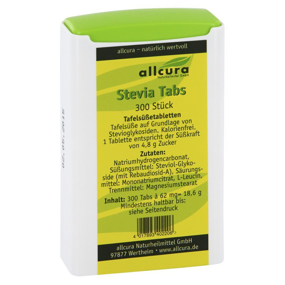 Stevia Tabs (300 Tabletten)