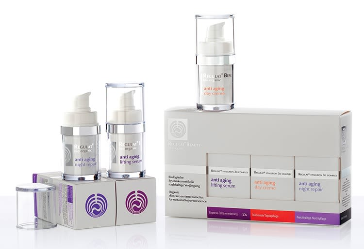 Regulat Beauty Anti-Aging Set bio, 4-teilig (4x15ml)