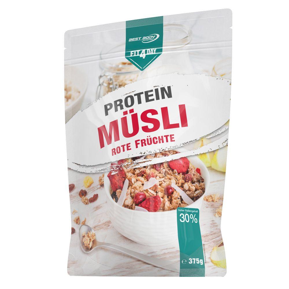 Protein Müsli - 6x375g - Rote Früchte