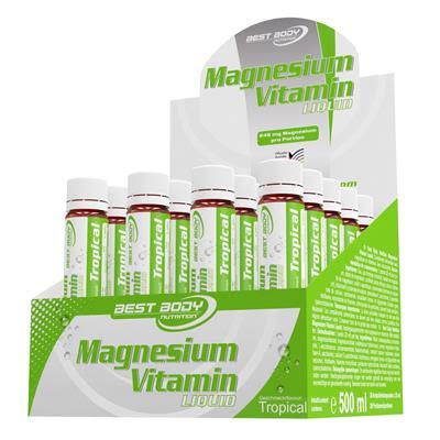Magnesium Liquid Tropical (20x25ml)