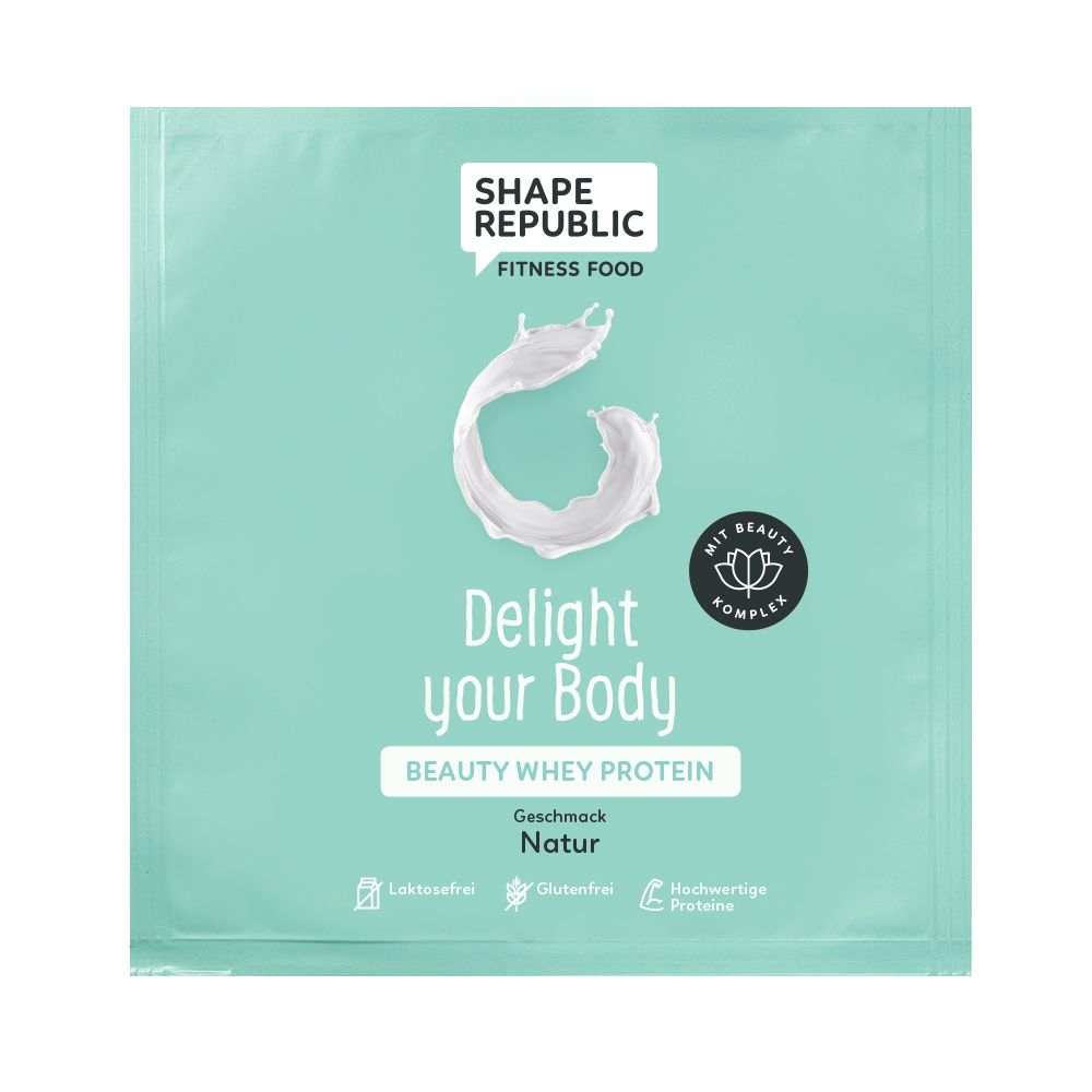Beauty Whey Protein Natur »Delight your Body« to go (30g)