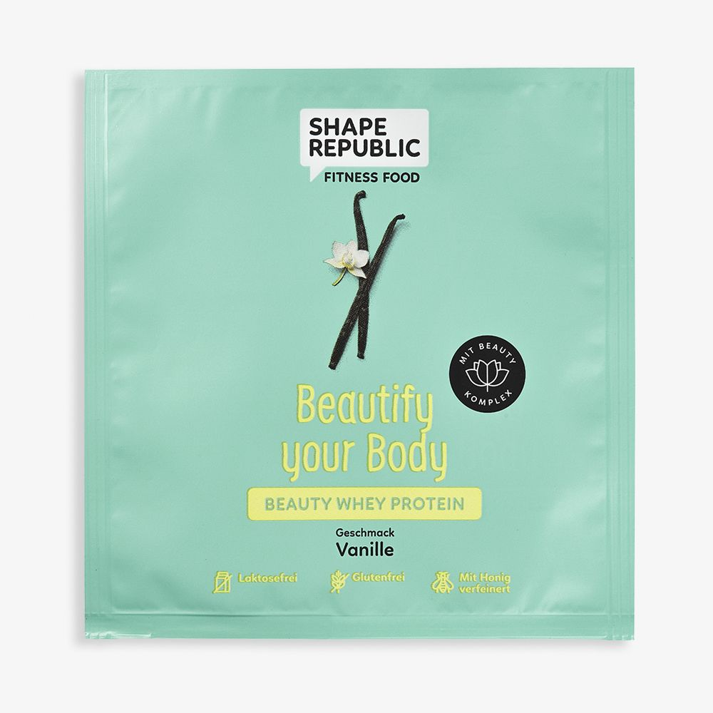 Beauty Whey Protein Vanille »Beautify your Body« to go (30g)