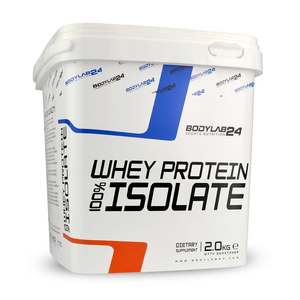Whey Protein Isolat - 2000g - Erdbeer