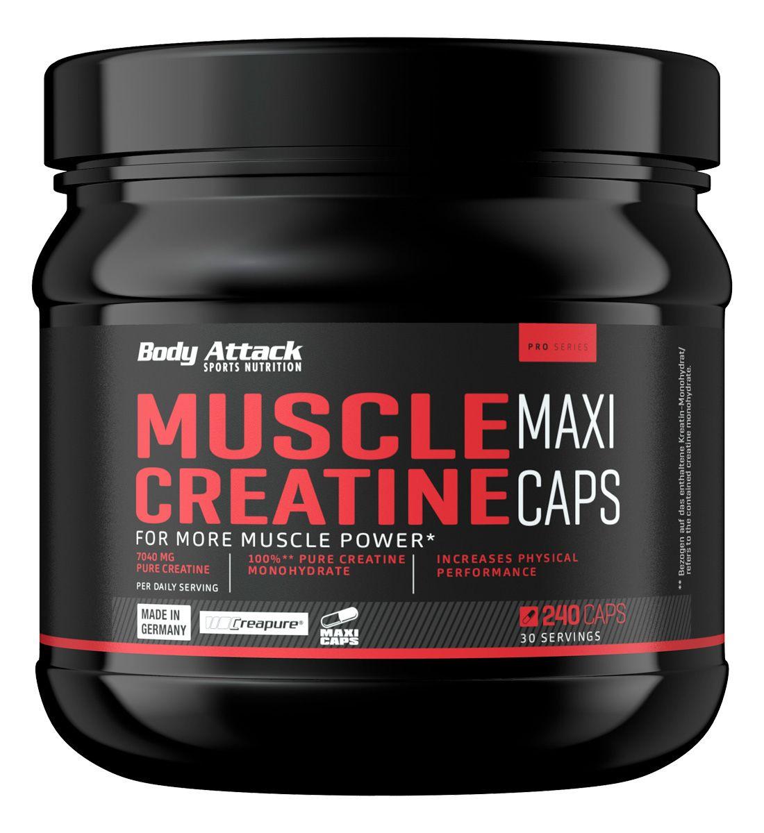Muscle Creatine Maxi Caps (240 Kapseln)