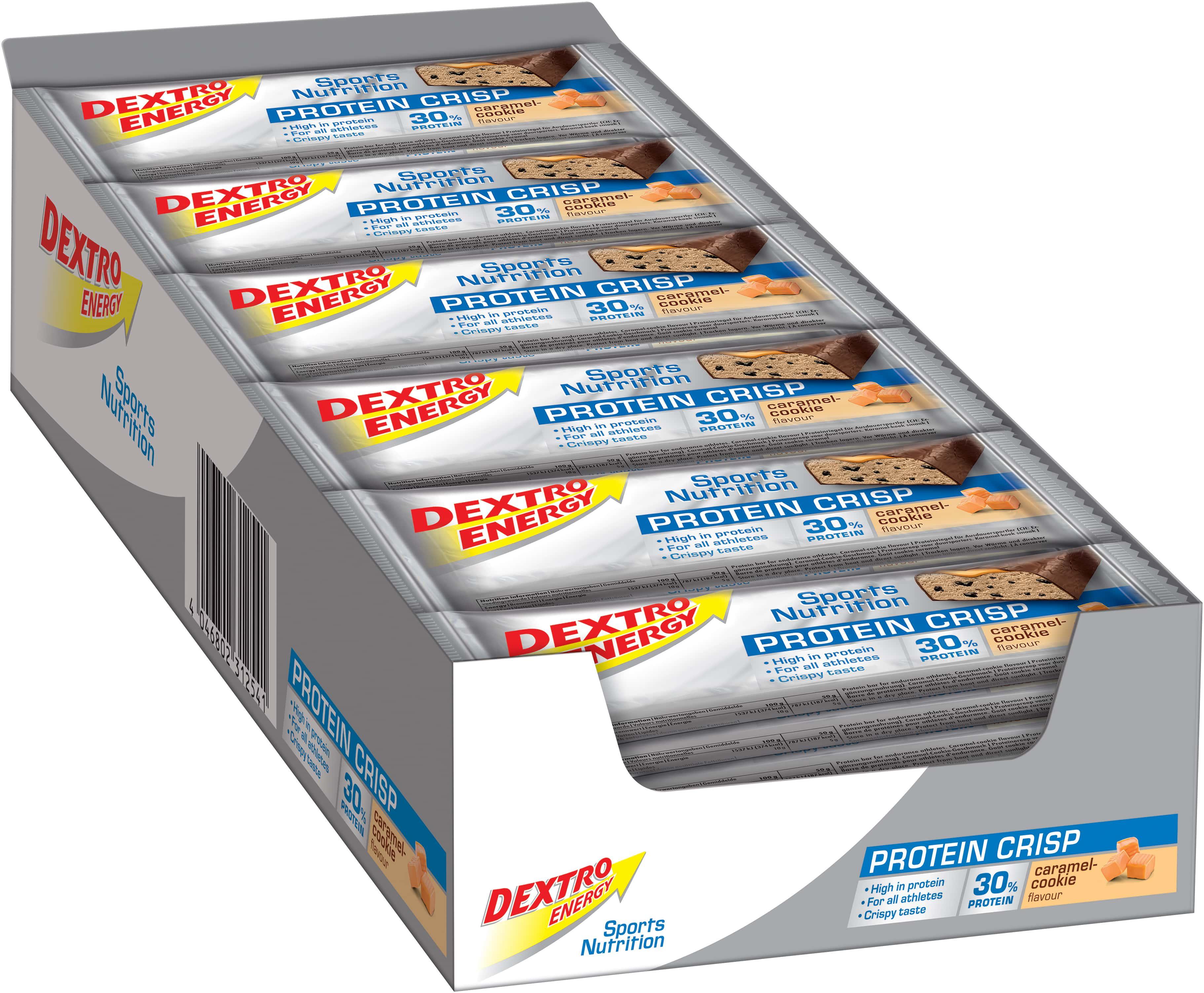 Protein Crisp - 24x50g - Caramel-Cookie