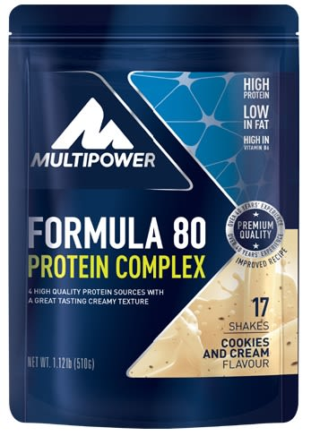 Formula 80 Protein Complex - 510g - Cookies and...