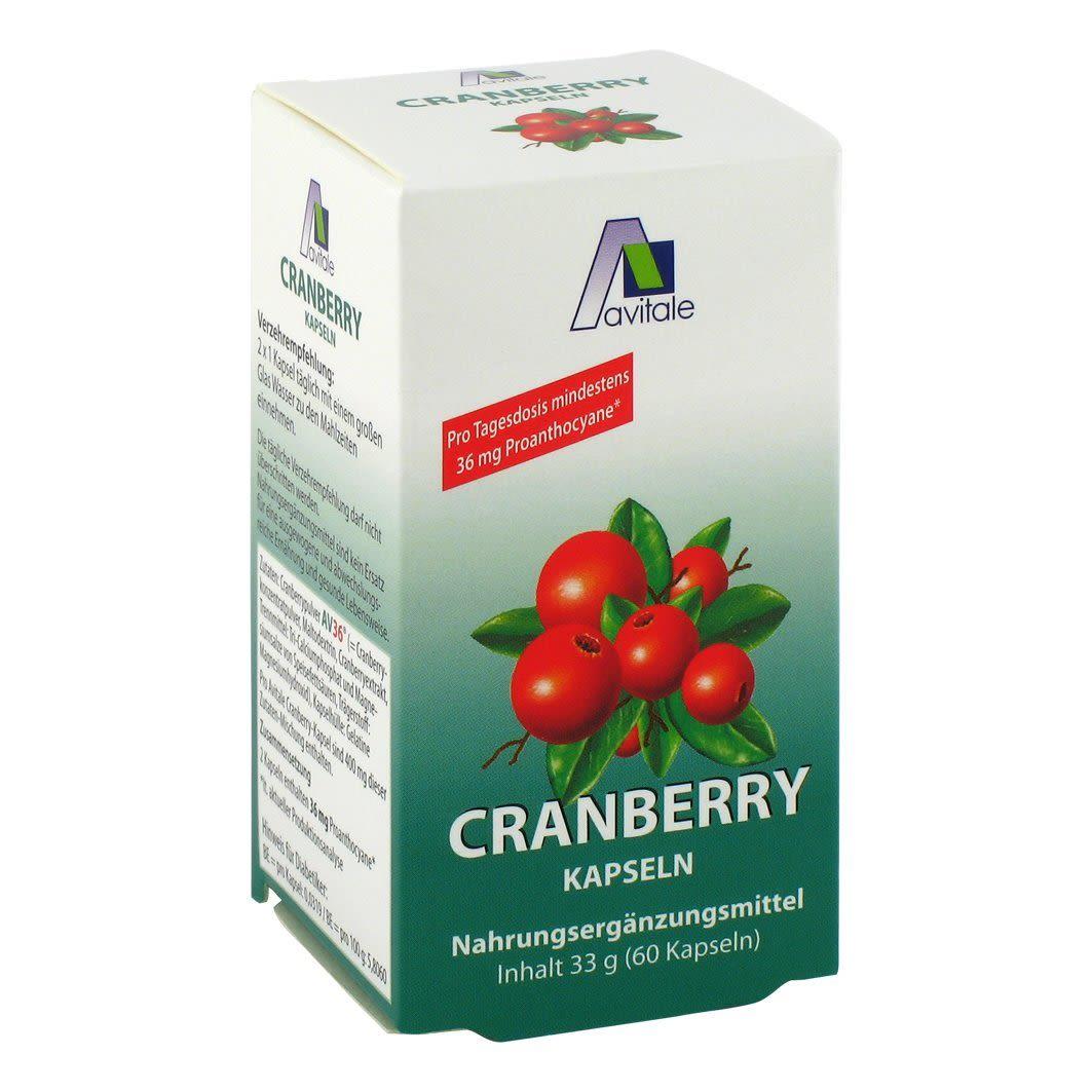 Cranberry 36mg Proanthocyane (60 Kapseln)