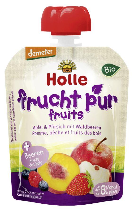 Bio-Pouchy Apfel mit Erdbeere, ab dem 8. Monat ...