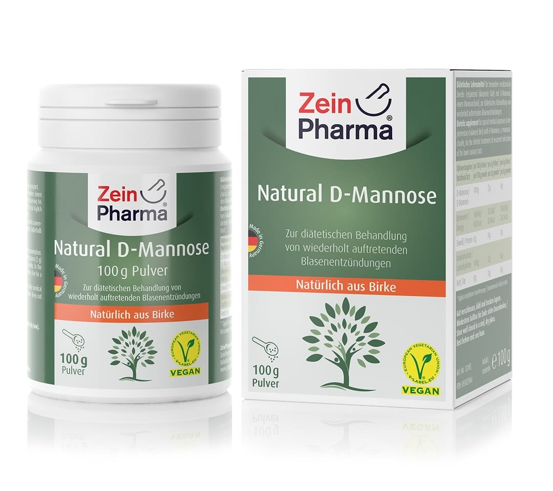 Natural D-Mannose Pulver (100g)