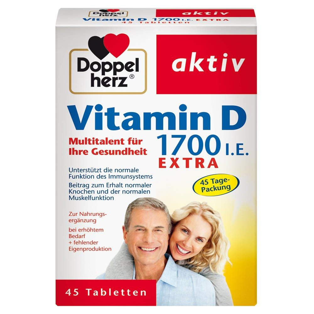 Vitamin D 1700 I.E. Extra (45 Tabletten)