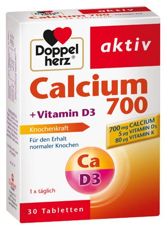 Calcium + D3 (30 Tabletten)