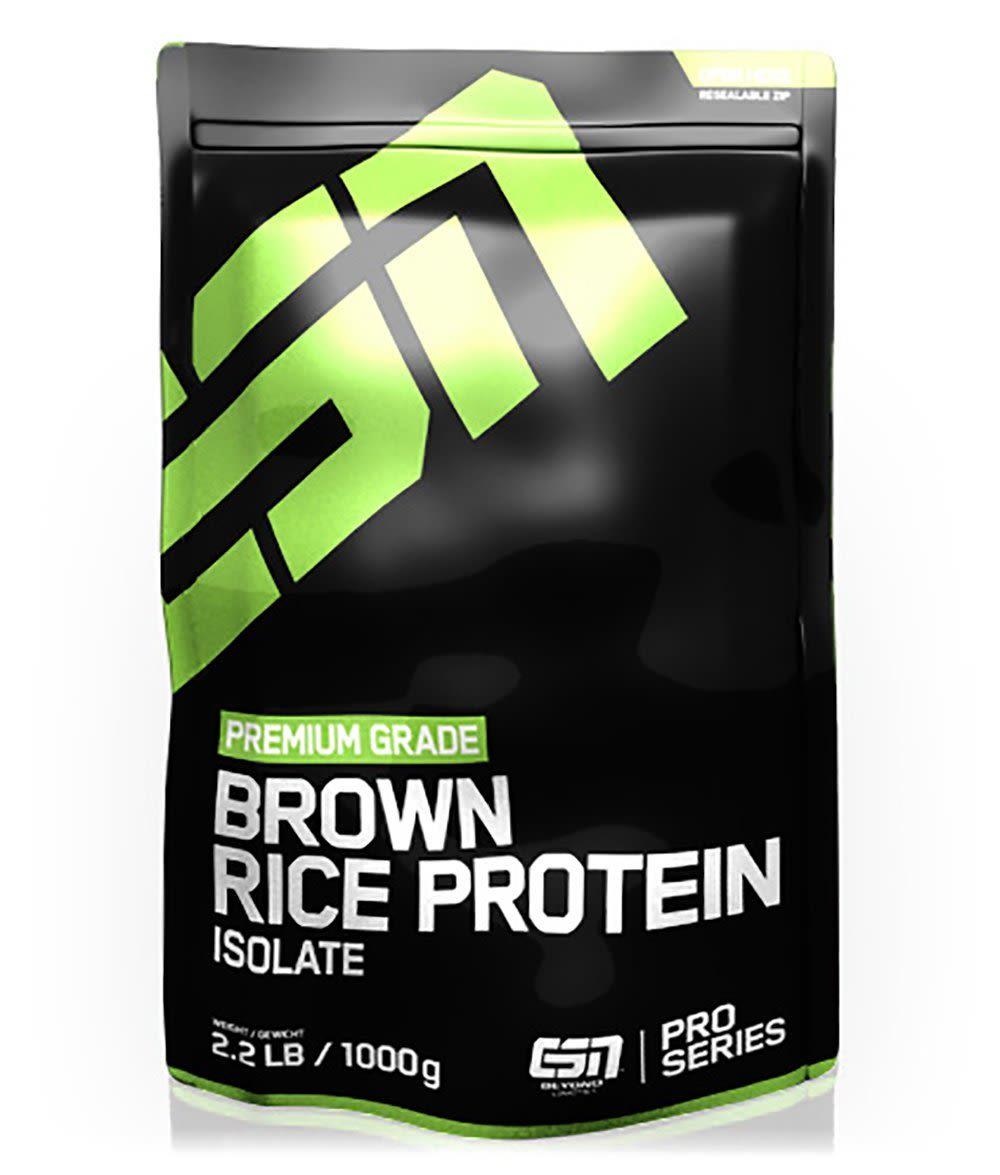 Rice Protein Isolate - 1000g - Hazelnut