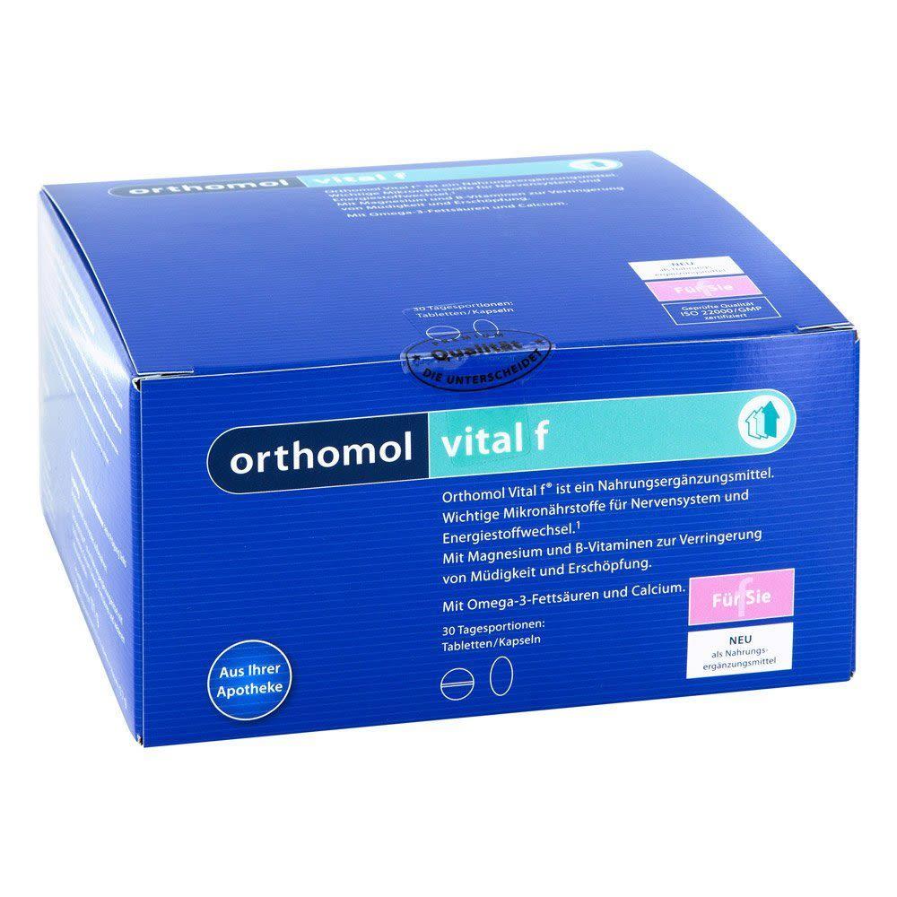 Vital F Tabletten/Kapseln Kombipackung (30 Stück)
