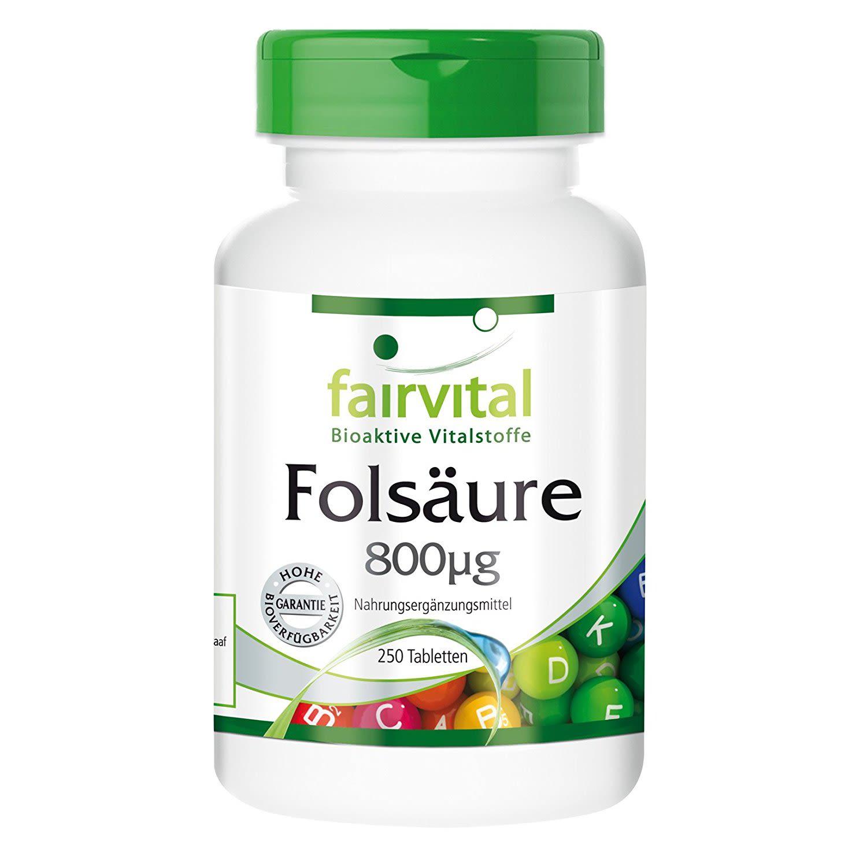 Folsäure (250 Tabletten)
