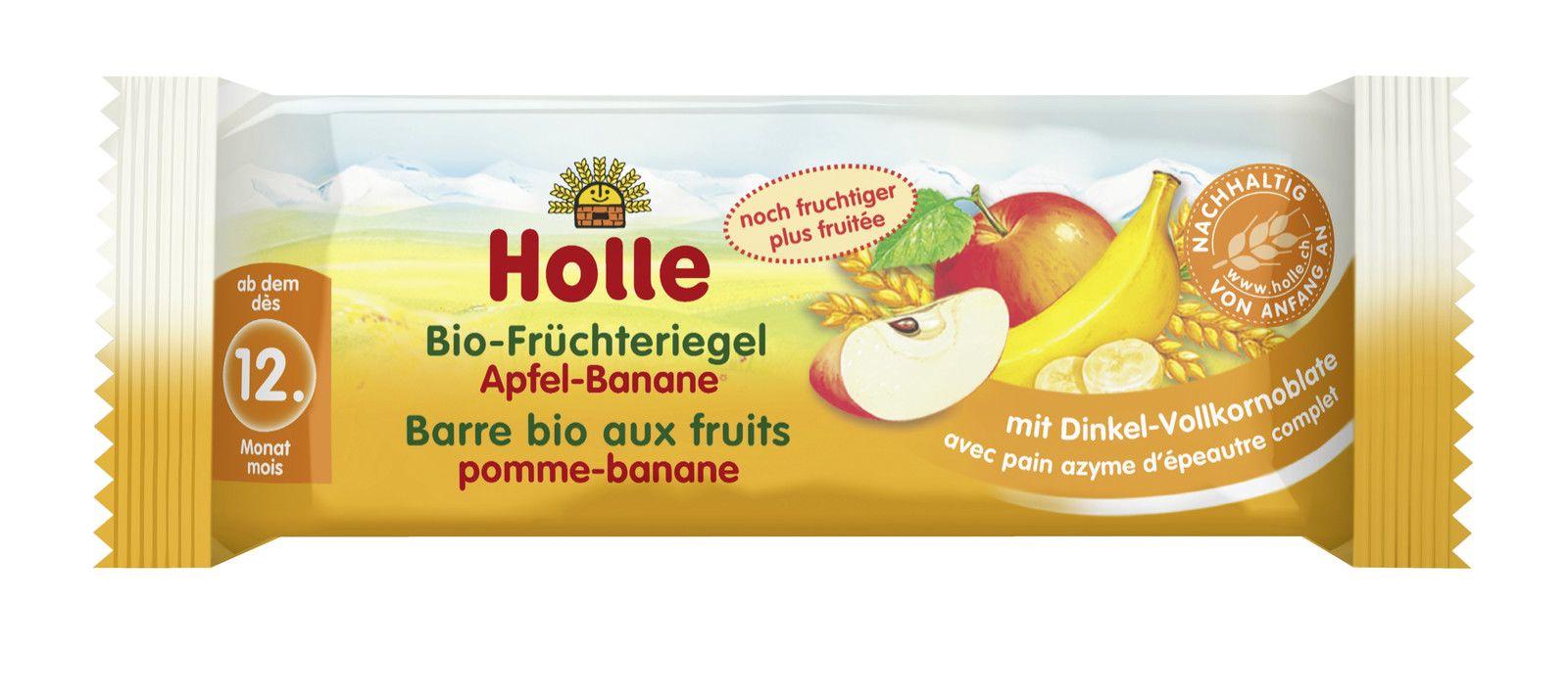 Bio-Früchteriegel Apfel-Banane, ab dem 12. Monat (25g)