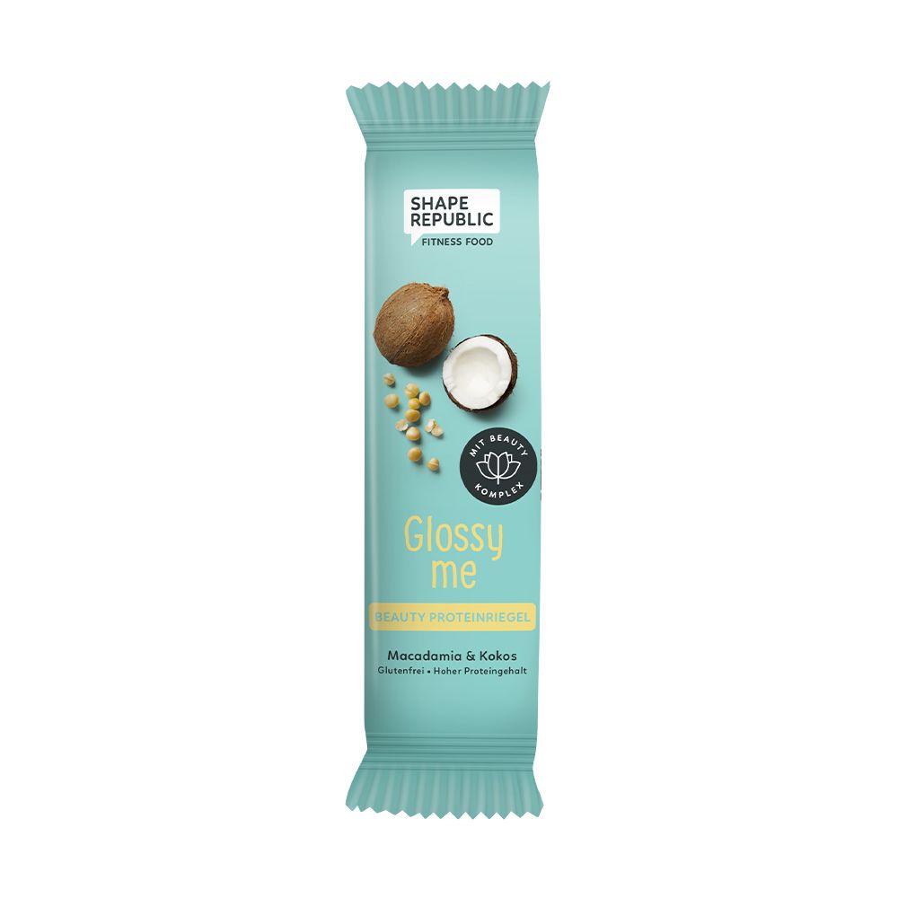 Beauty Proteinriegel Macadamia & Kokos »Glossy me« (40g)