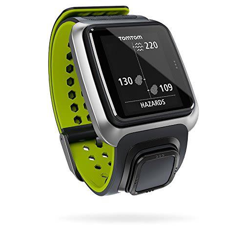 Golfer GPS Uhr - Schwarz