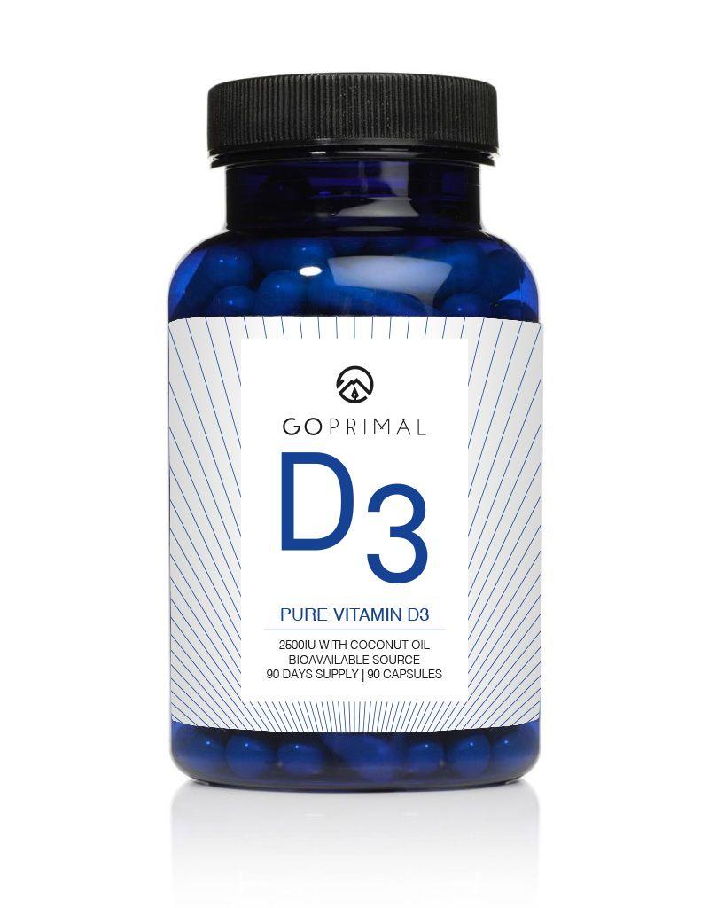 Vitamin D3 (90 Kapseln)