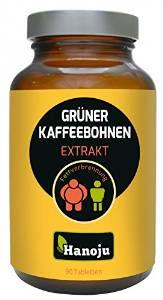 Grüner Kaffeebohnen Extrakt 400mg (90 Kapseln)