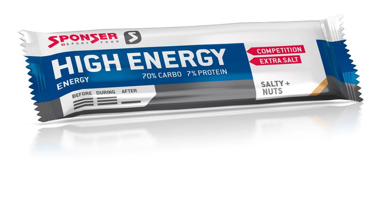 Energy High Energy Bar - 30x45g - Salty Nuts