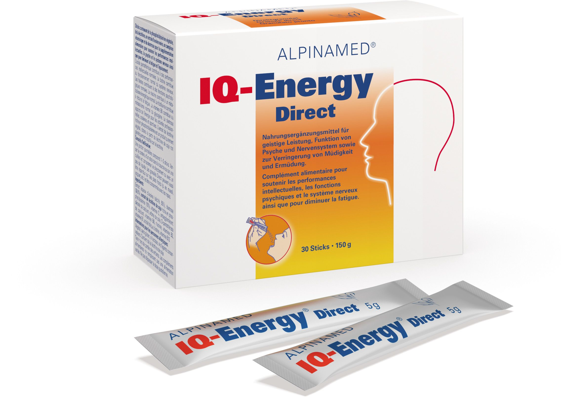 IQ-Energy Direct Sticks (30x5g)
