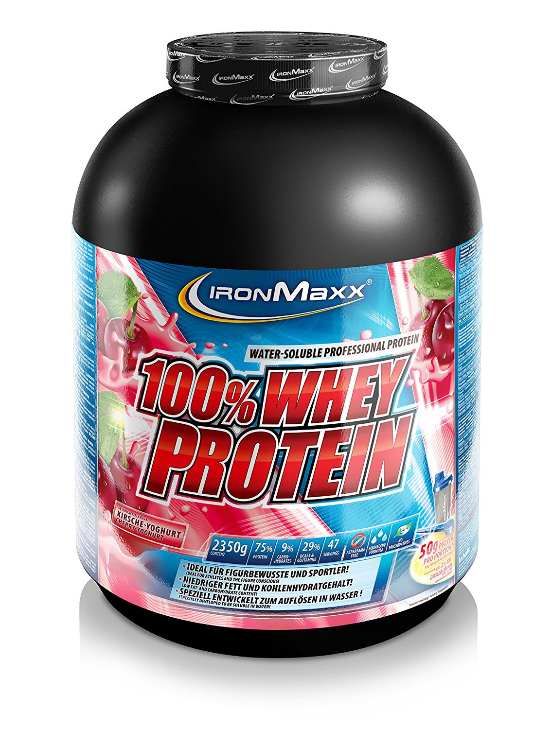 100% Whey Protein - 2350g - Orange-Maracuja