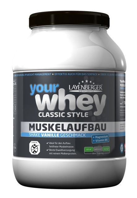 your whey Classic Style Vanille (750g)