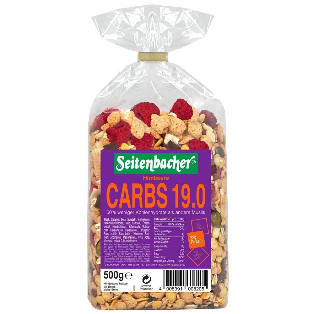 Müsli CARBS 19.0 - 500g - Erdbeere