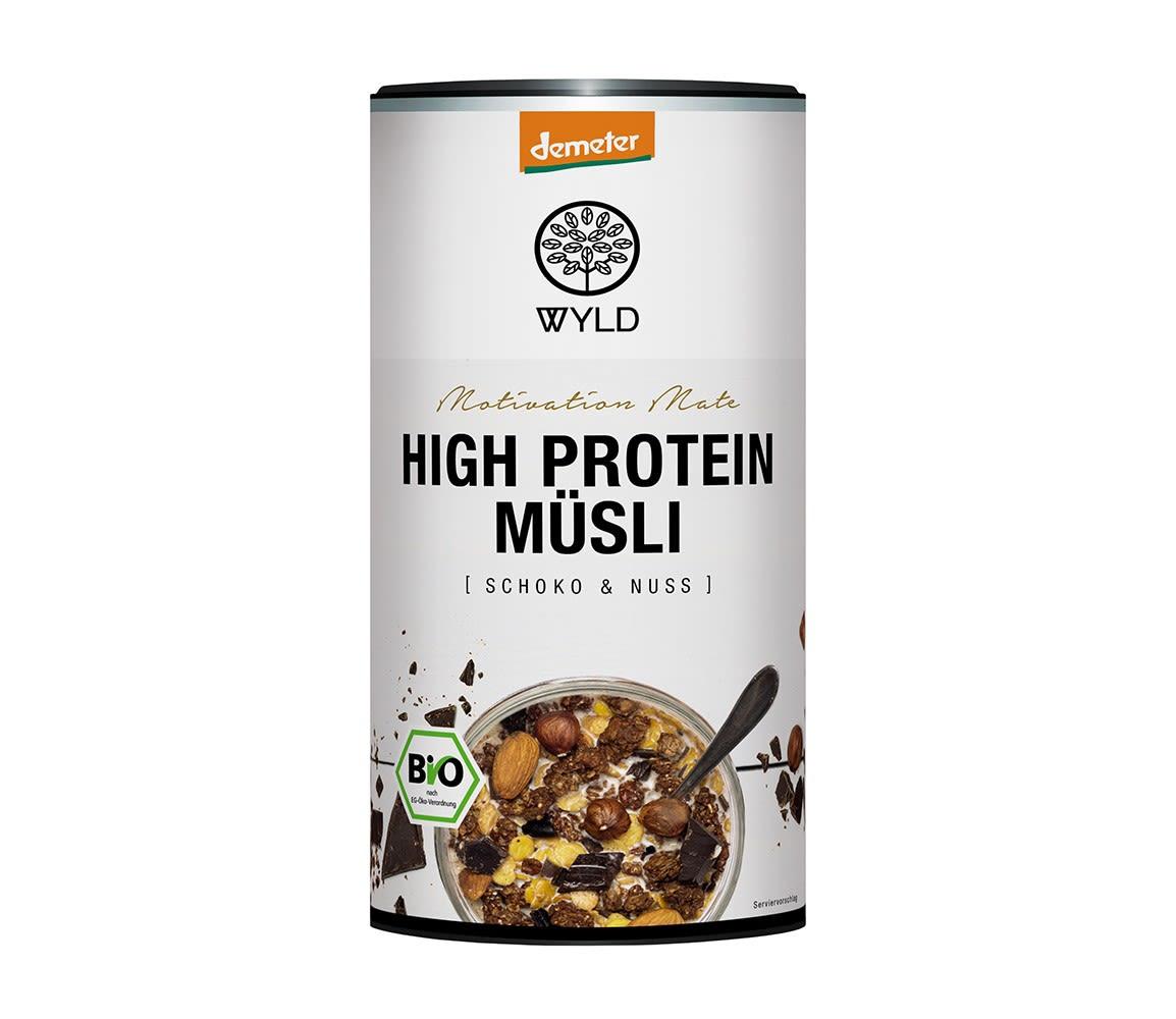 Demeter High Protein Müsli Schoko & Nuss ´´Motivation Mate´´ (350g)