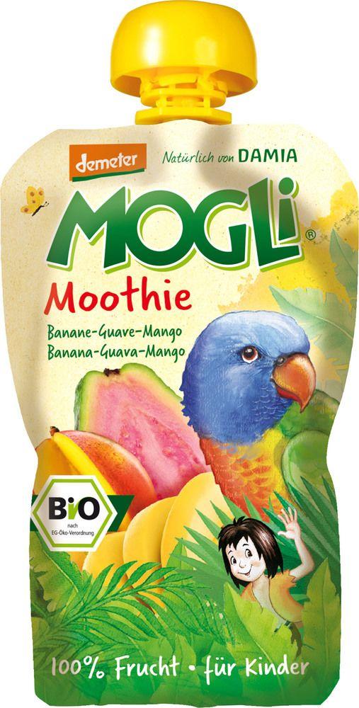 Mogli Moothie bio - 100g - Erdbeere-Apfel-Banane