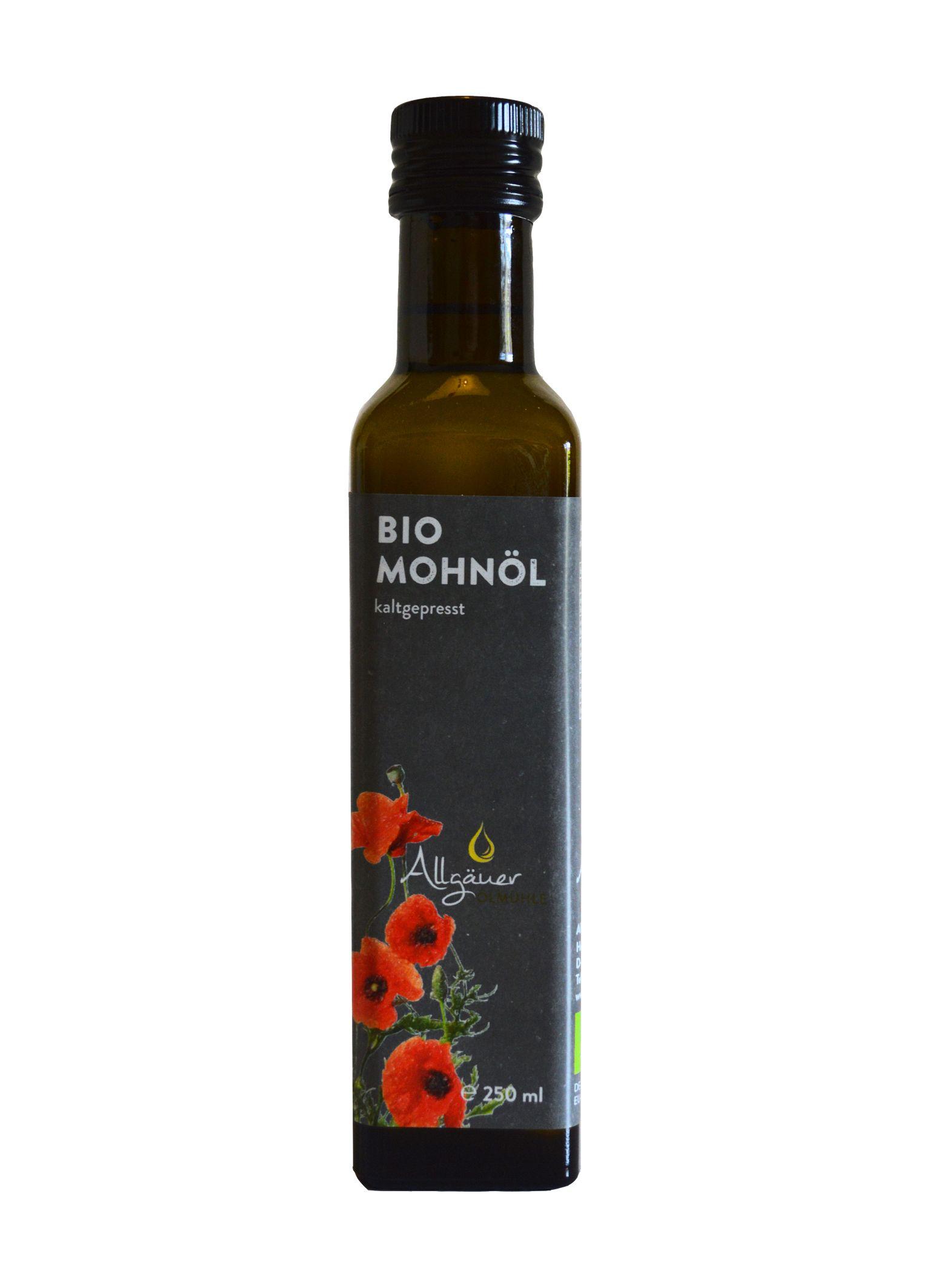 Allgäuer Ölmühle Bio Mohnöl (250ml)