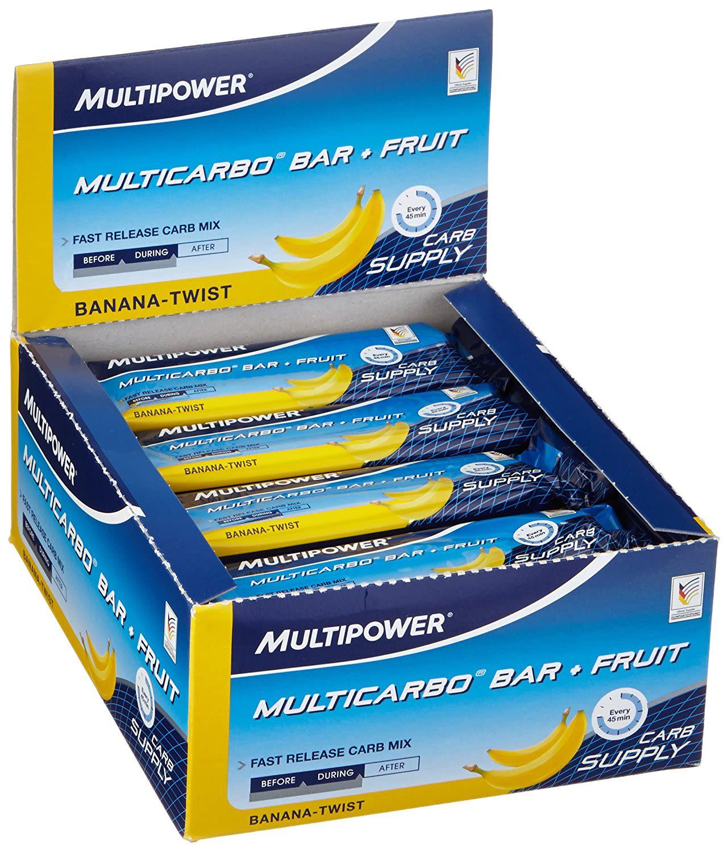 40% Multicarbo Bar + Fruit - 24x50g - Strawberr...