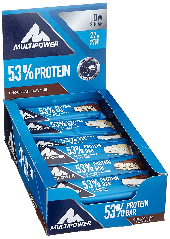 53% Protein Bar - 24x50g - Cookies & Cream