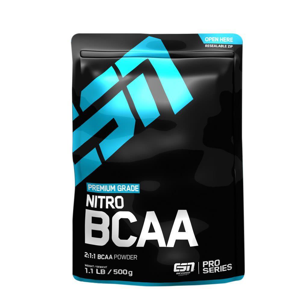 Nitro BCAA Powder - 500g - Raspberry Ice Tea