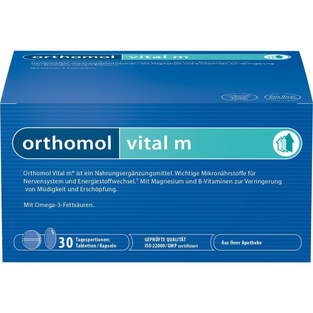 Vital M Tabletten/Kapseln Kombipackung (30 Stück)