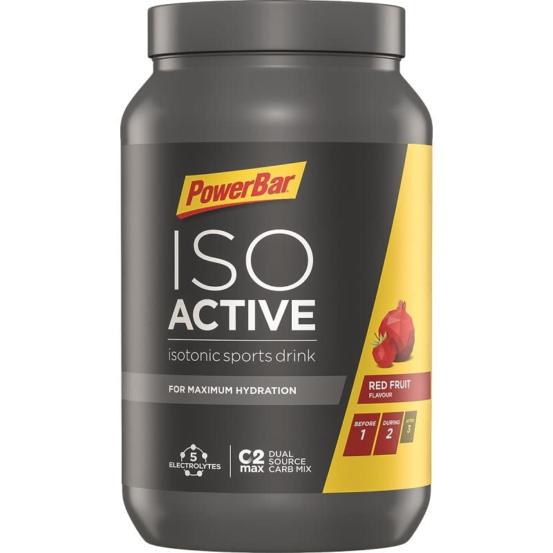 Isoactive - Isotonic Sports Drink - 1320g - Red Fruit Punch