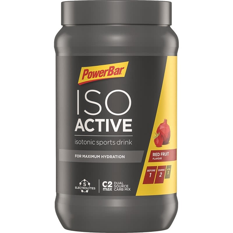 Isoactive - Isotonic Sports Drink - 600g - Red Fruit Punch