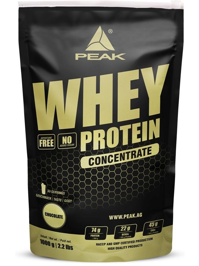 Whey Protein Concentrate - 1000g - Chocolate