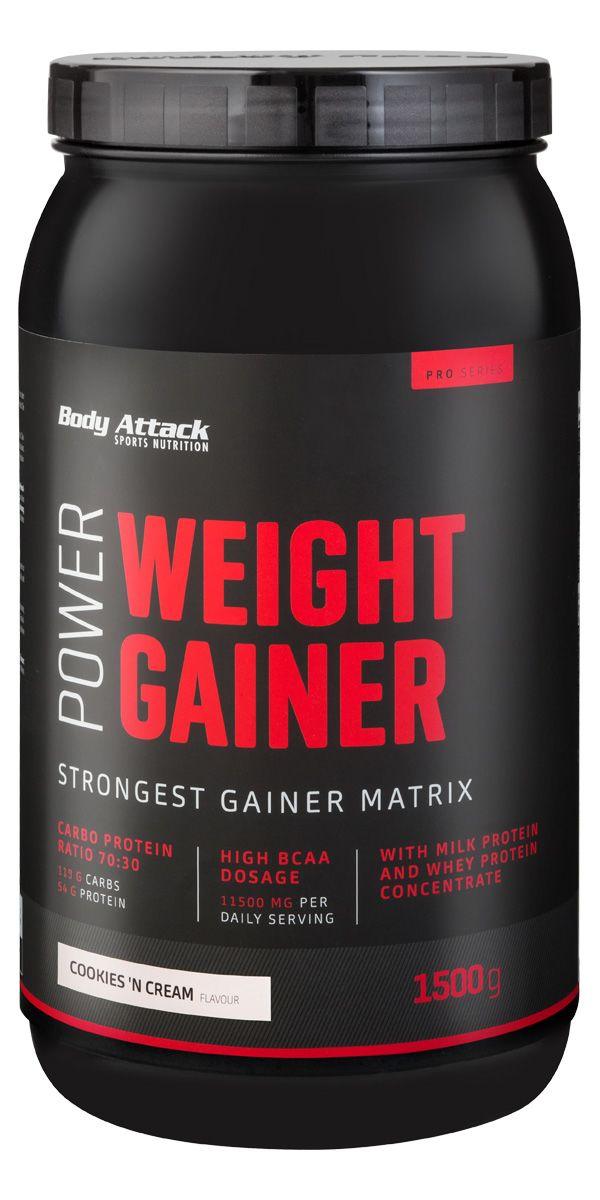 Power Weight-Gainer - 1500g - Vanilla