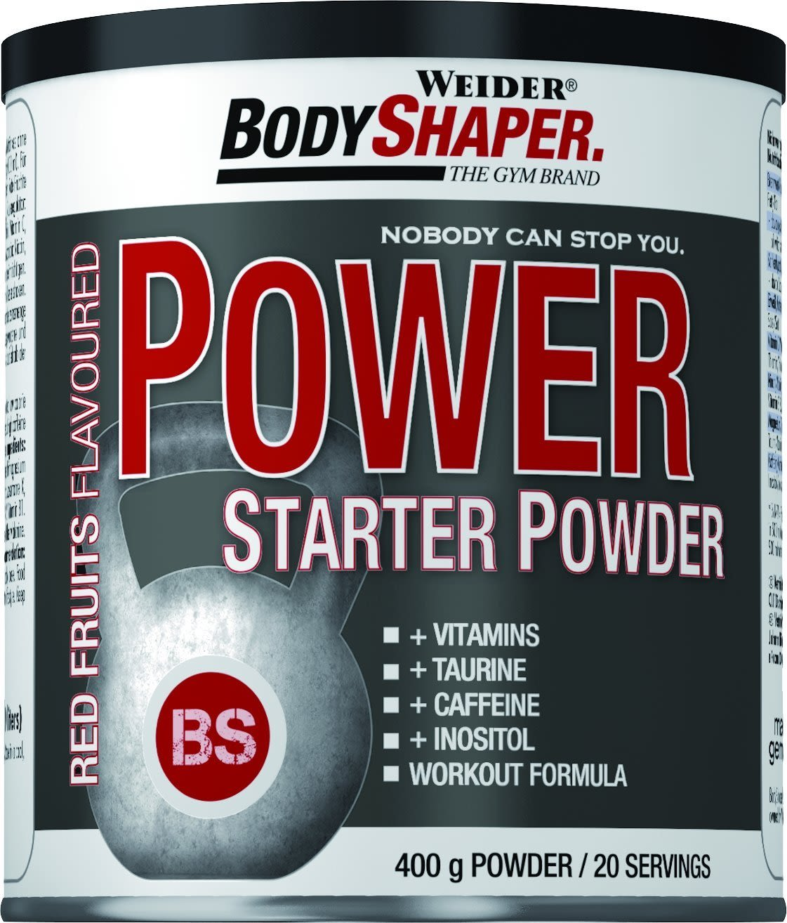 Power Starter Powder Red Fruits (400g)