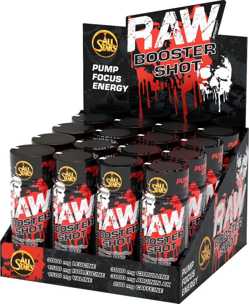 Raw Booster Shot - 16x60ml - Tropical