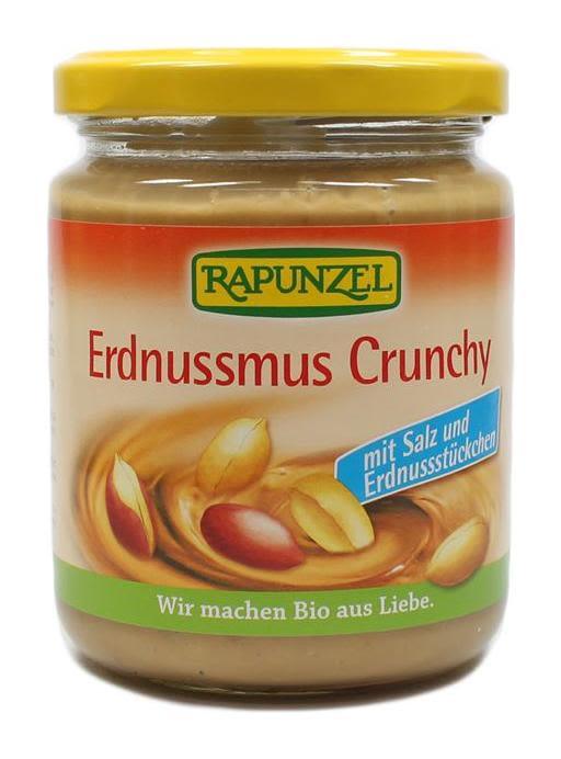 Erdnussmus Crunchy mit Salz bio (250g)