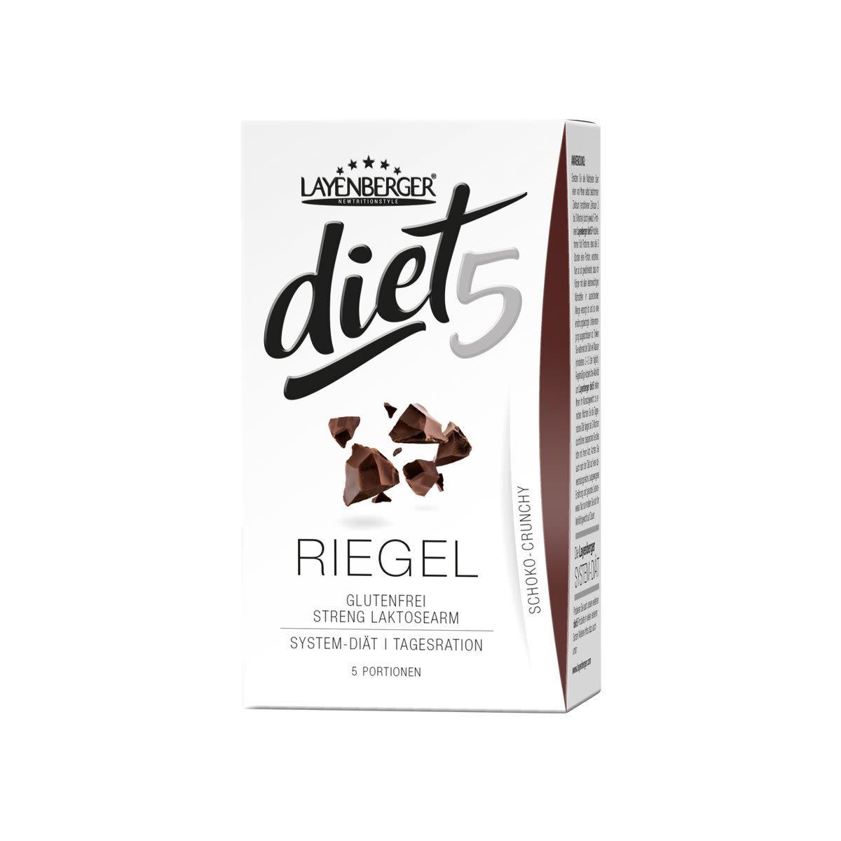 diet5 Riegel - 5x47g - Schoko-Crunchy