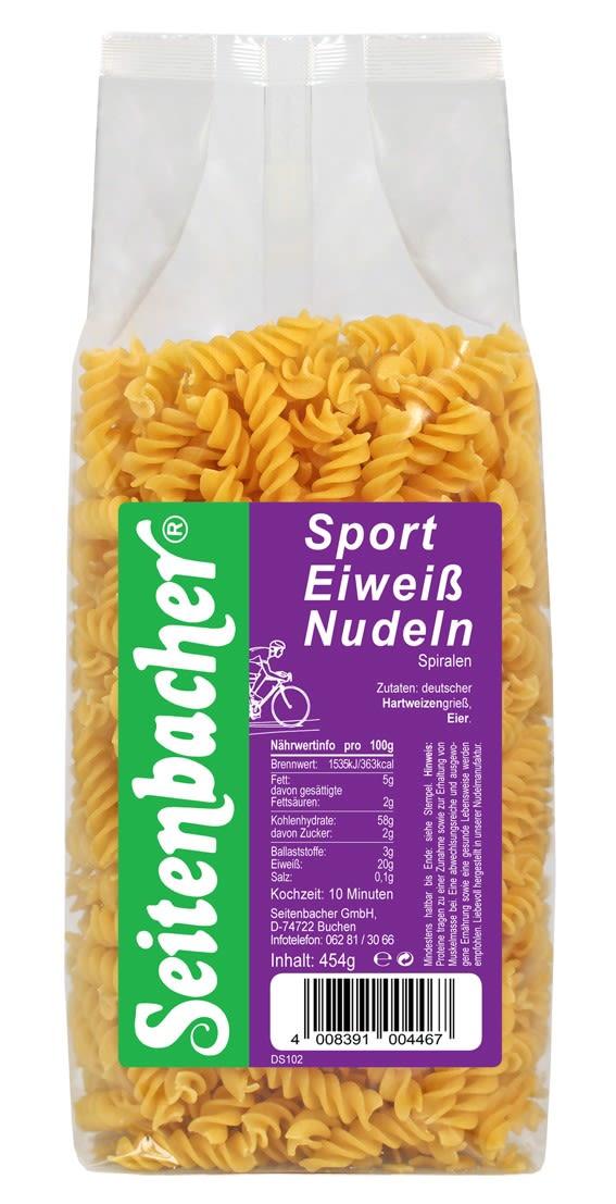 Sport Eiweiß Nudeln - Spiralen (454g)