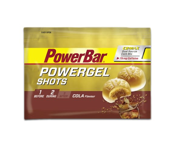 Powergel Shots - 60g - Cola (mit Koffein)
