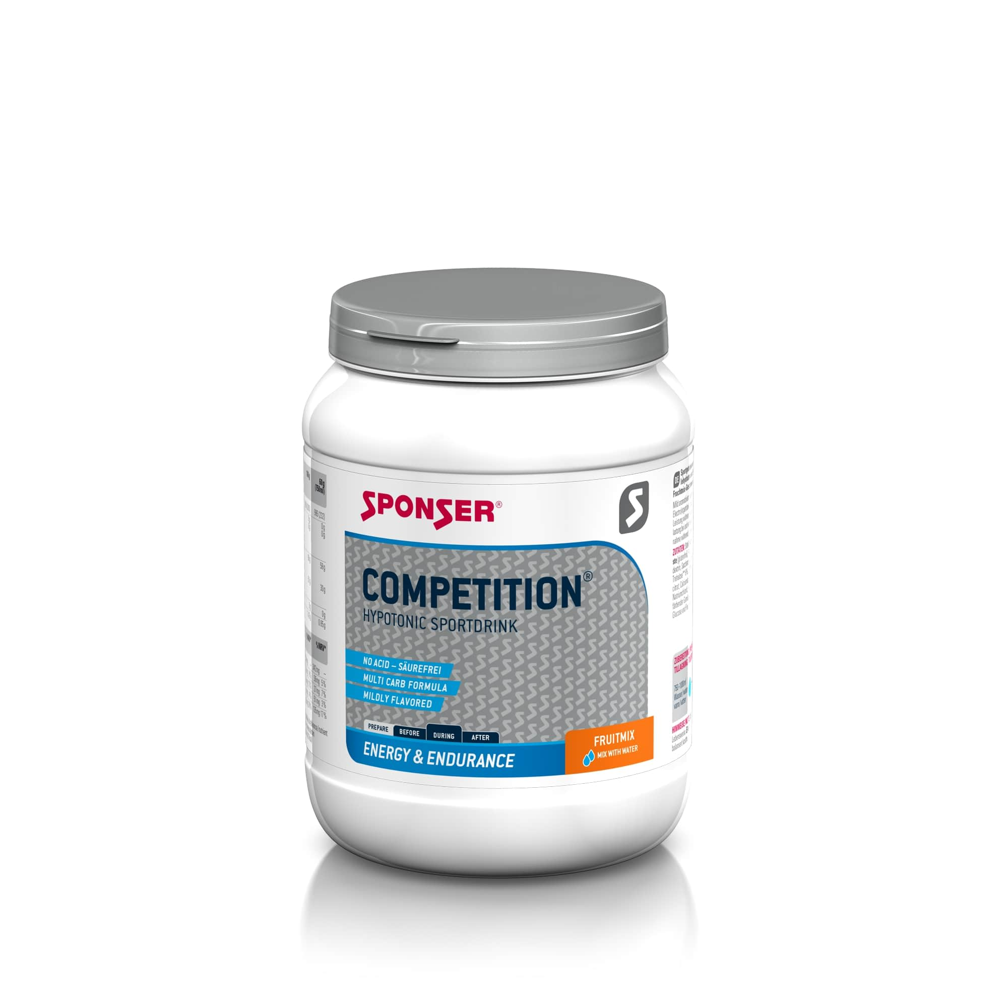 Energy Competition Hypotonic Sportdrink - 1000g - Orange