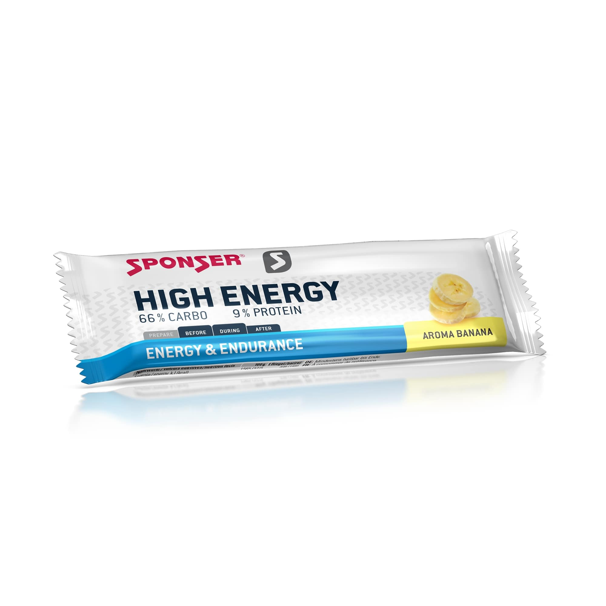 Energy High Energy Bar - 30x45g - Banana