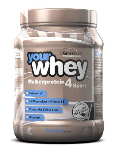 your whey Molkenprotein 4Sport - 450g - Vanille